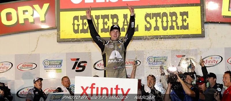 William Byron Gets First Career NASCAR XFINITY Win At Iowa