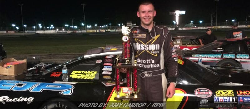Lanpher Reigns Victorious In Pro Series 125 At Beech Ridge