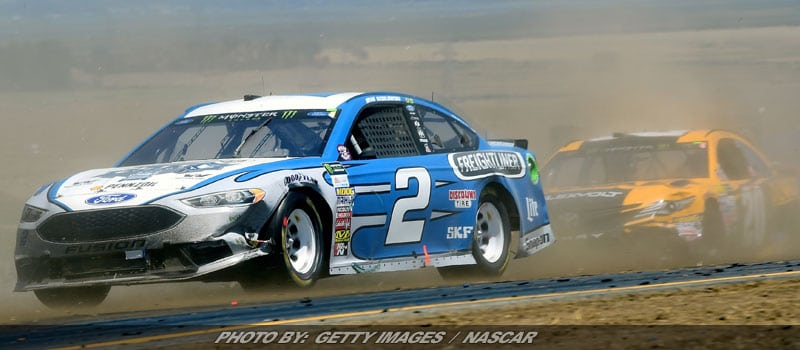 Unconventional Strategy Propels Keselowski To Third At Sonoma