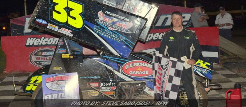 Lutz Wins Sprint Feature At Grandview Before Rain Comes