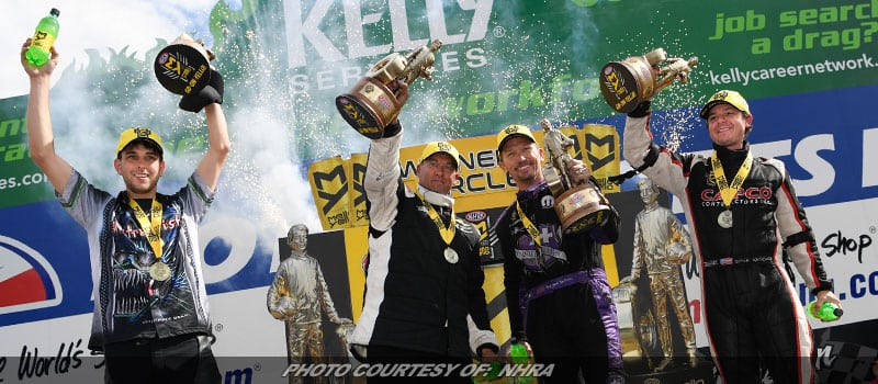 Torrence, Beckman, Butner, Tonglet Grab NHRA Victories At Norwalk