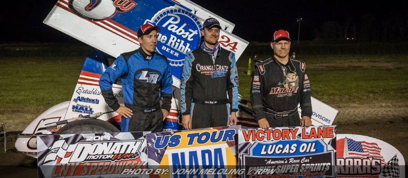 Lucas Wolfe Claims Night One Of ESS Speedweeks At Can-Am