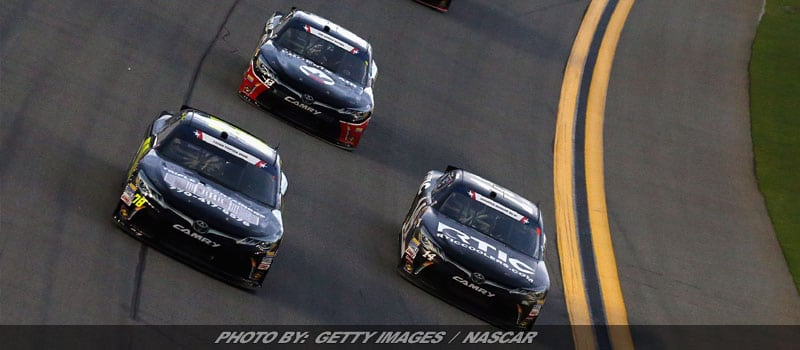 Rain Interrupts Daytona XFINITY Race; Forces Delay Until Saturday