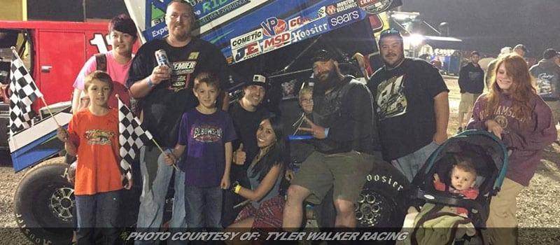 Tyler Walker Returns To Grandview For PA Sprint Speedweek Action
