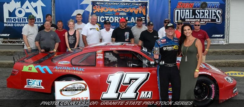 MacDonald Scores At The 'Magic Mile' By Winning First Short Track Showdown