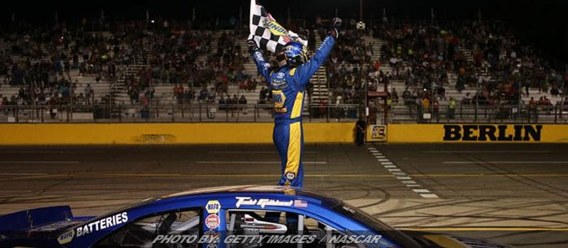 Gilliland Bolts To Front Late For K&N Pro East Win At Berlin