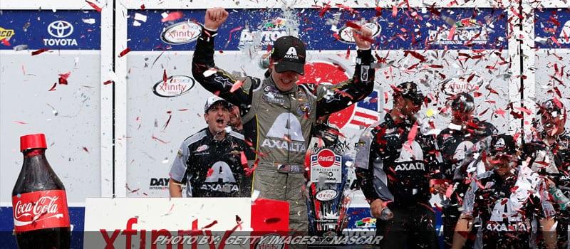 Byron Wins Long, Action-Packed NASCAR XFINITY Race At Daytona