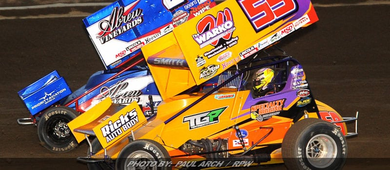 Ryan Smith Racing For Thunder Series Redemption Tuesday At Grandview