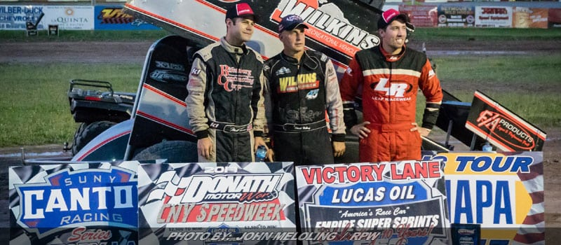 Hebing Wins Utica-Rome ESS Battle; Varin Takes Speedweek War