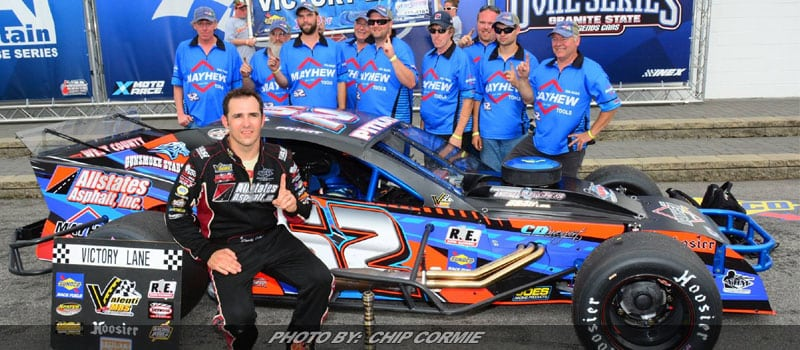 Pitkat Tops VMRS Field At New Hampshire Motor Speedway Debut