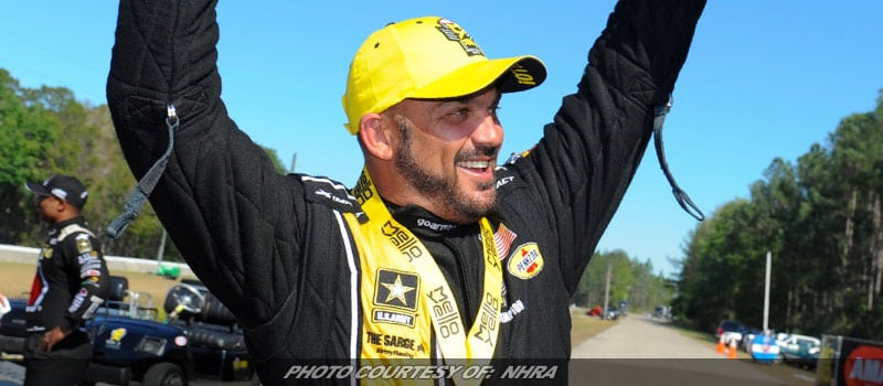 Schumacher Looking For Hometown Advantage In Route 66 NHRA Nationals