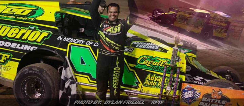 Perrego Victorious In Battle Of The Bullring At Accord Speedway
