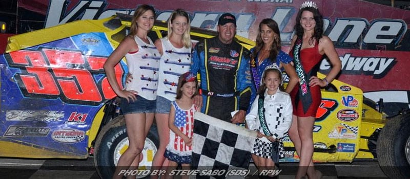 Duane Howard Tops 43-Car Modified Field Tuesday At Grandview