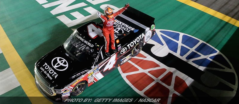Christopher Bell Holds On To Win Camping World Truck Race At Kentucky