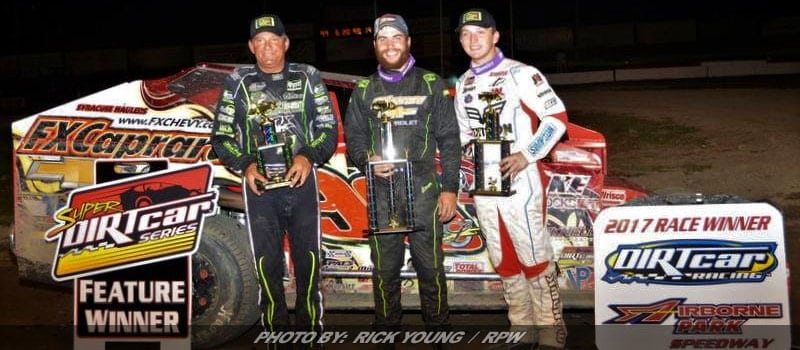 Lightning Strikes For Larry Wight In Super DIRTcar Event At Airborne