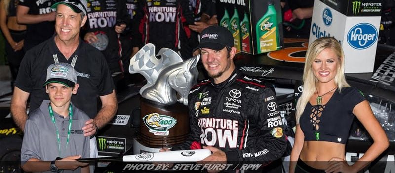 Martin Truex Jr. Survives NASCAR Overtime On Old Tires To Win At Kentucky