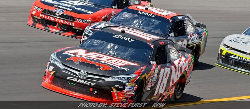 Kyle Busch Outruns Ryan Blaney At Kentucky For 88th NASCAR XFINITY Win