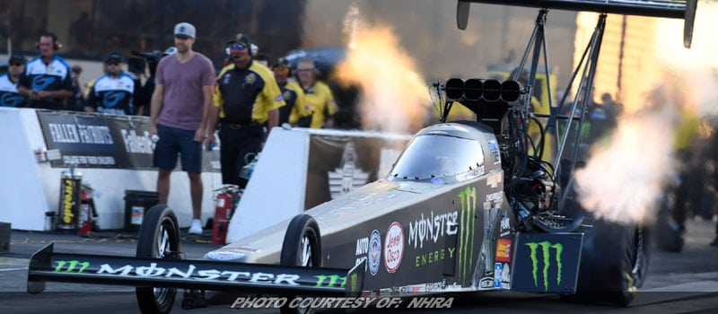 Brittany Force Powers To #1 Qualifying Spot For NHRA Event At Route 66
