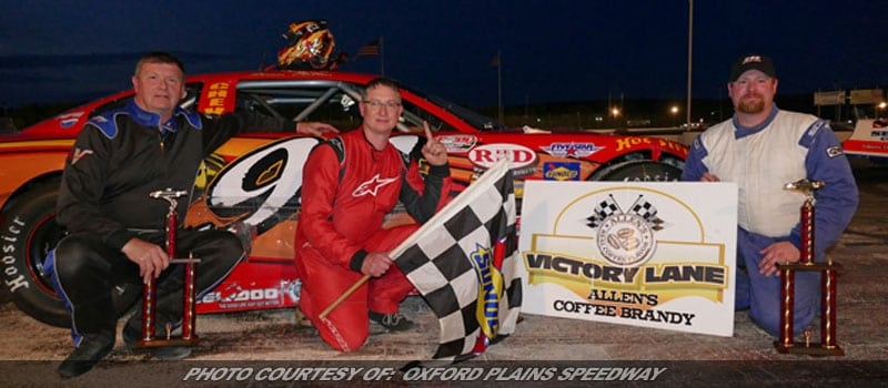 Shawn Martin Races To Super LM Win At Oxford Plains