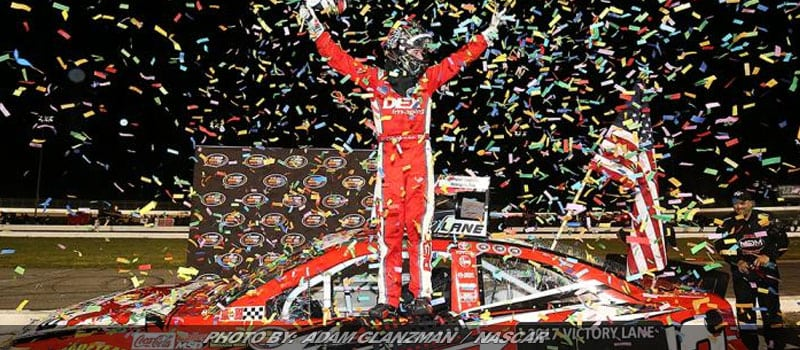 Burton Powers To Fourth K&N Pro East Win At Thompson