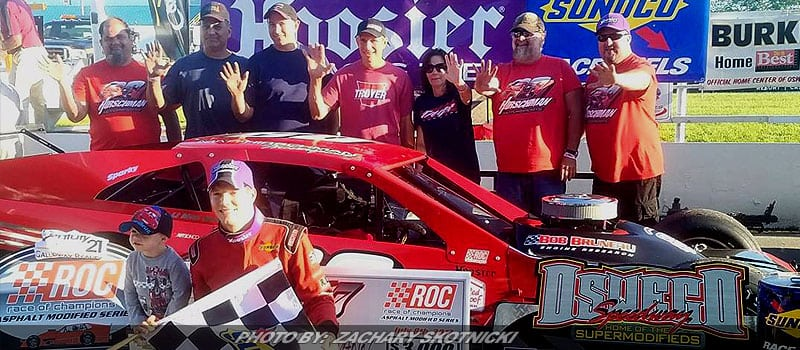 Matt Hirschman Rolls To Third RoC Win Of '17 In Super 67 At Oswego