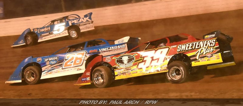 Lucas Oil Late Model Dirt Series Charges West