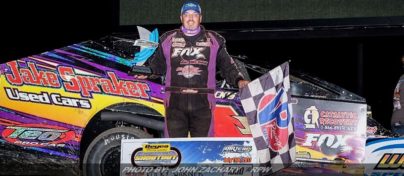 "Rocky Warner Puts On ""Hall Of Fame"" Performance At Weedsport"