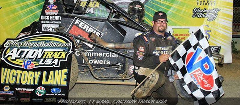 Matt Westfall Takes Action Track USA Cash Back To Ohio
