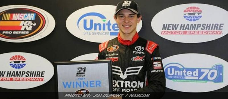 Purdy Scores Fourth Straight K&N East Pole With Quick Time At NHMS