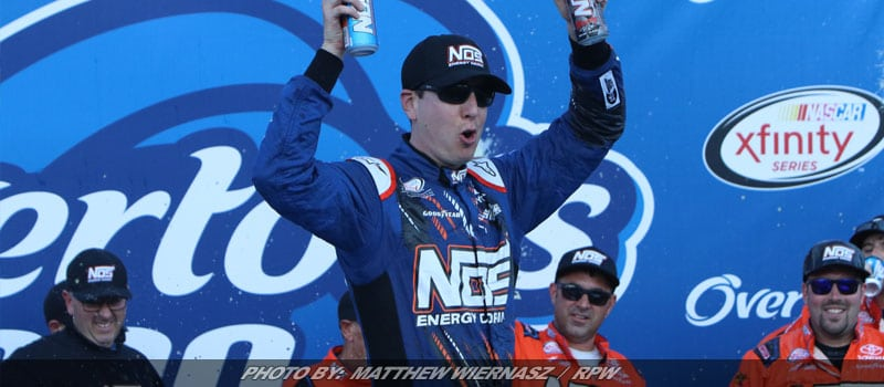 Kyle Busch Dominates the Overton's 200 at NHMS
