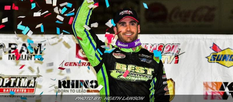 Richards Takes Second Straight Lucas Oil LM Dirt Victory
