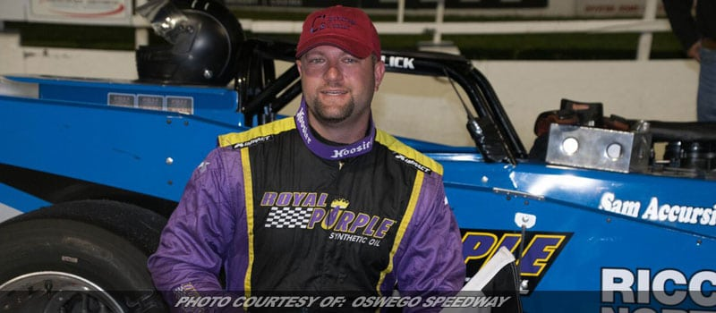 Dave Shullick Jr. Capitalizes For Fourth Victory Of 2017 At Oswego