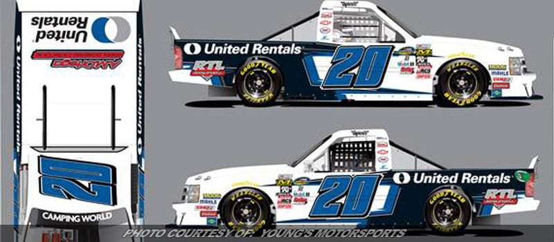 Young's Motorsports To Field Two Truck Series Entries At Eldora