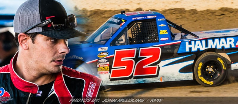 Friesen & Holman Lead NASCAR Truck Practice Tuesday At Eldora