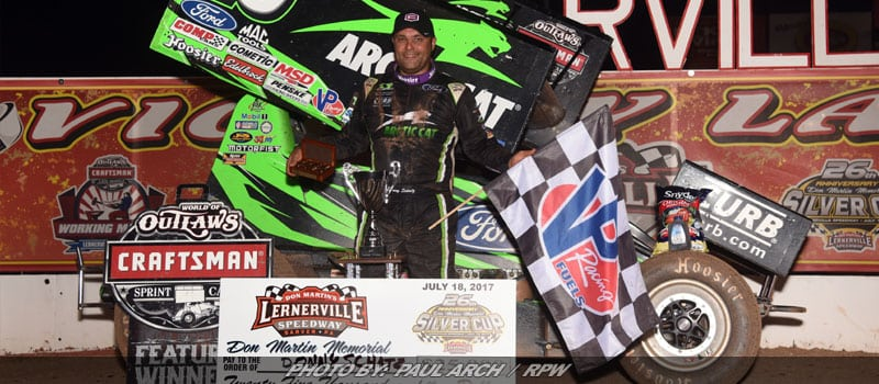 Schatz Scores Fifth Silver Cup Win At Lernerville