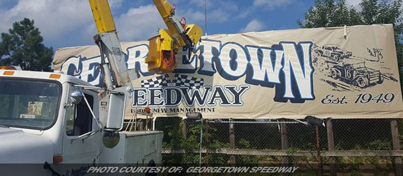 Storm Damage's Repaired; Georgetown's Ready To Race This Friday