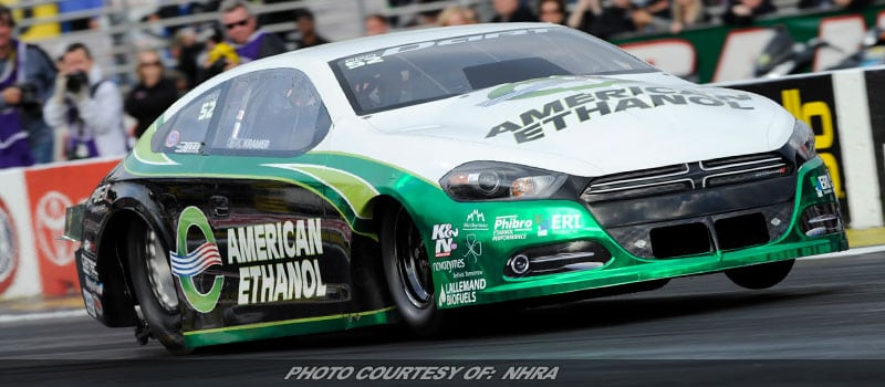Racing At Home Track Has Big Challeneges For NHRA's Deric Kramer