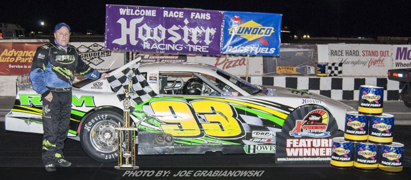Russell Runs To Retro Race Of Champions LM Win At Lancaster