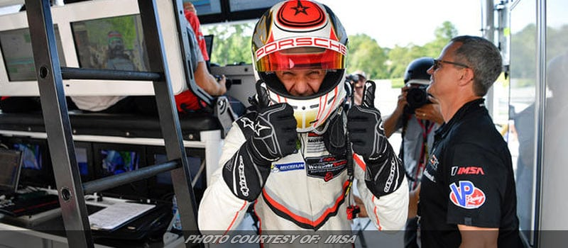 Bruni Gives Porsche 450th Major North American Sports Car Pole At Lime Rock