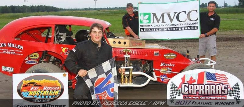 Barbour & Wilson Claim First Checkers In New Dirt Modified Nostalgia Tour