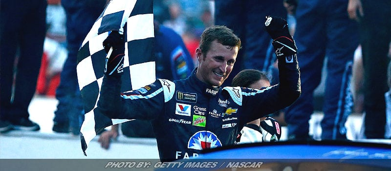 Kasey Kahne Snatches Improbable Victory In Brickyard 400