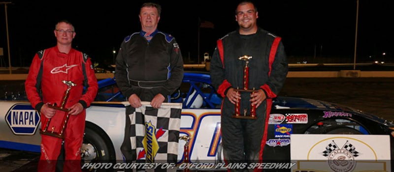 Tim Brackett Wins First This Season At Oxford Plains