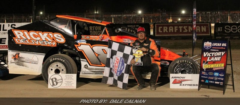 Rouse Dominates For Ohsweken DIRTcar Sportsman Series West Win