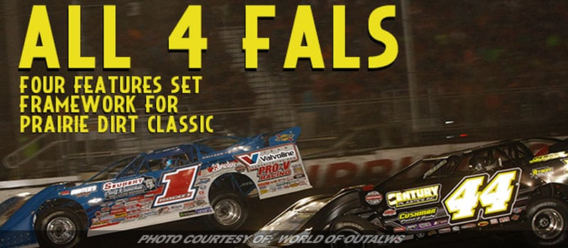 Four Features Sets Stage For WoO Lat Model Prairie Dirt Classic