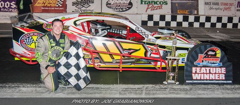 Patrick Emerling Takes Autograph Night Win At Lancaster