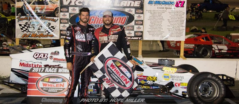 Jimmy Zacharias Capitalizes On Brother's Bad Luck at Chemung