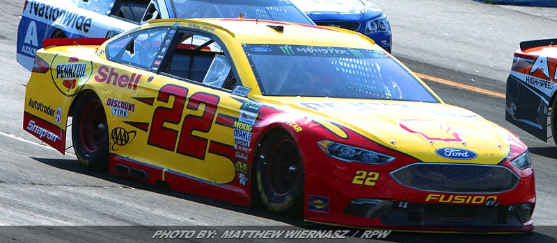 Joey Logano Hopes To Take Advantage Of Favorable Schedule