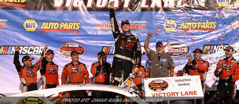 Preece Continues Roll With Whelen Modified Tour Win At Stafford