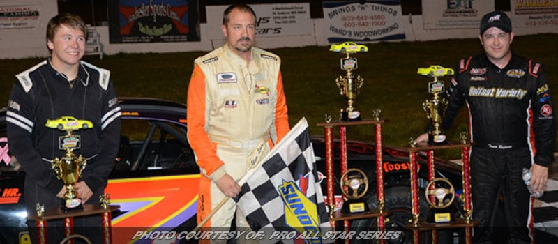 Glen Luce Best In PASS North Action At Lee USA Speedway