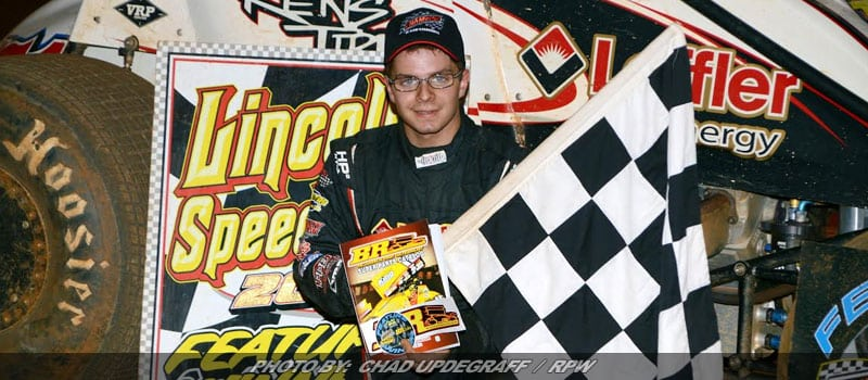 Freddie Rahmer Wins Wild 410 Sprint Feature At Lincoln